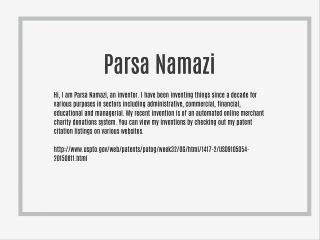 Parsa Namazi