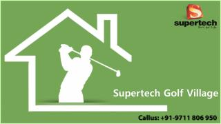 Golf Village Flats, Supertech Golf Village, @2&3 BHK flats