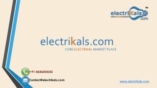 KOLORS Electrical products | electrikals.com