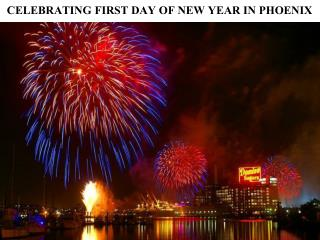 CELEBRATING FIRST DAY OF NEW YEAR IN PHOENIX