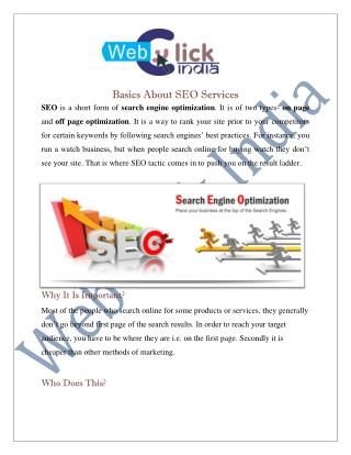SEO Company in Delhi India | SEO Services
