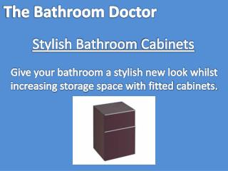 Bathroom Cabinets by Bathroom Doctors in Milton Keynes