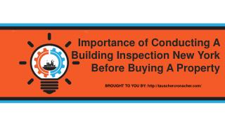 Importance of Conducting A Building Inspection New York Before Buying