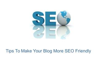 Advanced tips to make your blog SEO effective