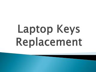 Laptop Keys Replacement