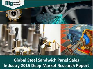 Global Steel Sandwich Panel Sales Industry 2015 Deep Market Research Report - Big Market Research