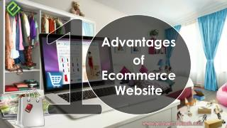 10 Advantages of Ecommerce Website