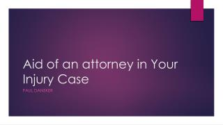 Paul Dansker Attorney
