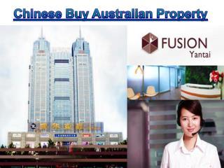 Chinese Buy Australian Property