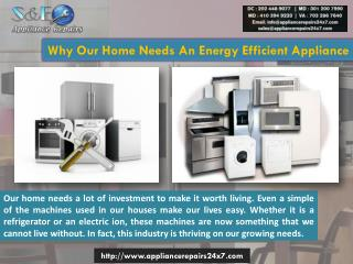 Best Appliance Repair Service in  Washington DC