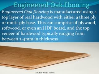Buy online Engineered Oak flooring Product