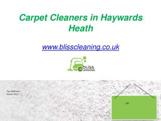 Carpet Cleaners in Haywards Heath - www.blisscleaning.co.uk