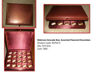 Special Chocolate Gift Boxes
