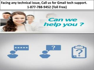 Gmail Support-24/7 Email Support|1-877-788-9452