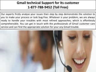 Email Support --- Gmail Password Recovery |1-877-788-9452