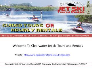 Clearwater beach tours