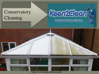 Northwood conservatory cleaning