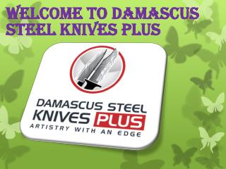 Damascus Steel Knives PLUS