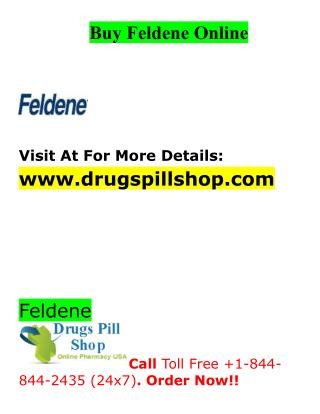 Buy Feldene Online From Drugs Pill Shop