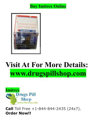Buy Imitrex Online From Drugspill Shop