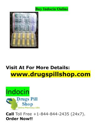Buy Indocin Online From Drugspill Shop