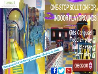 Get excellent indoor playground equipments in China