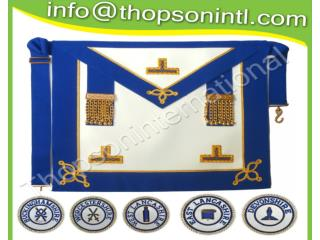 Craft Provincial undress apron with badges