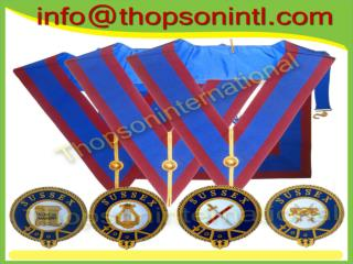 Masonic Mark Provincial undress collar