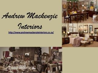 Portfolio Of Interior Design - Andrew Mackenzie
