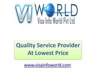 visa info world(9899756694) in india-visainfoworld.com