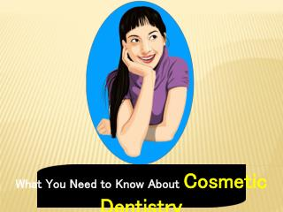 All About Cosmetic Dentistry