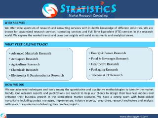 Stratistics Market Research services | Strategy MRC