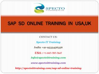 sap sd online training in usa,uk