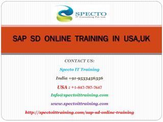 sap sd online training in usa,uk