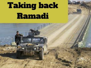 Taking back Ramadi