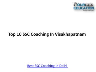 Top 10 SSC Coaching In Visakhapatnam