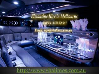 Limousine Hire in Melbourne