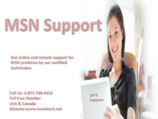 Need support for MSN account? Call  MSN support number 1-877-788-9452 tollfree