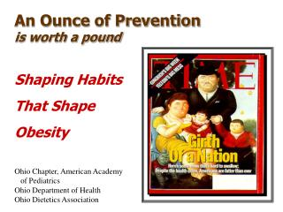 An Ounce of Prevention  is worth a pound