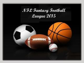 NFL Fantasy Football League 2015