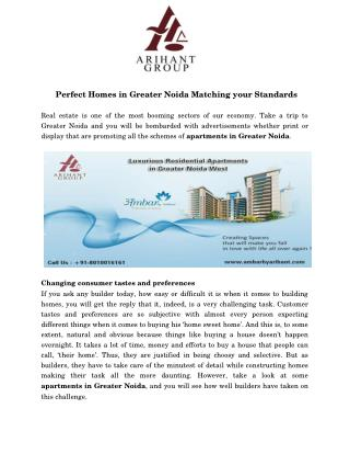 Best Residential Apartments In Greater Noida West
