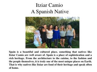 Itziar Camio-A Spanish Native