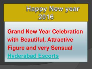 New year celebration with Hyderabad dating services