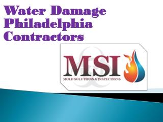 Water Damage Philadelphia