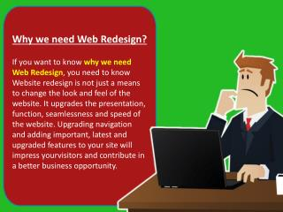 Website Redesign Services - Reasons to Redesign Your Website