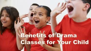 Benefits Of Drama Classes For Your Child