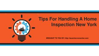 Tips For Handling A Home Inspection New York