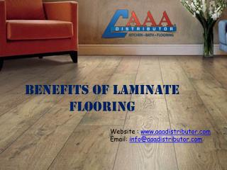 Benefits of Laminate Floorings