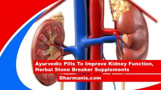 Ayurvedic Pills To Improve Kidney Function, Herbal Stone Breaker Supplements